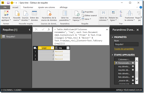 PowerBI_ES_Page_requete