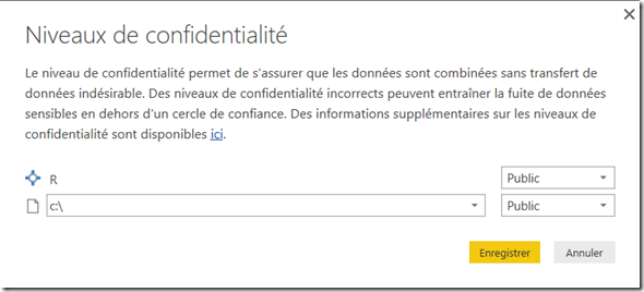 PowerBI_niveau_confidentialite